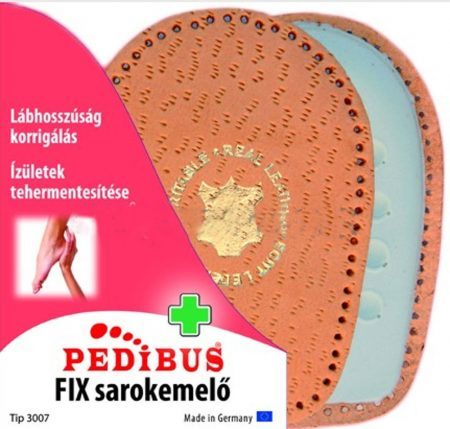 Pedibus 3007 Fix sarokemelő bőr