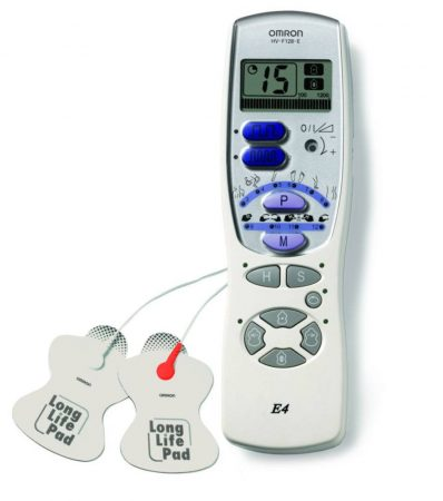 OMRON E4 TENS izom és idegstimulátor