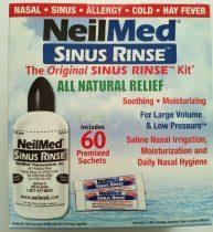 Neil-Med orr irrigátor szett felnőtt 240 ml-es palack + 60 db só