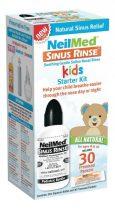 Neil-Med orr irrigátor szett gyermek 120 ml-es palack + 30 db só