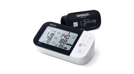 """OMRON M7 Intelli IT Intellisense felkaros """"okos-vérnyomásmérő"""" Bluetooth adatátvitellel, OMRON connect okostelefon alkalmazással"""