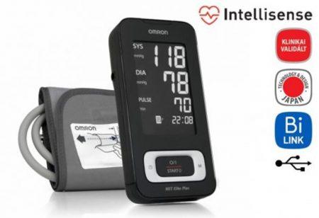 """OMRON MIT ELITE PLUS Intellisense felkaros """"okos-vérnyomásmérő"""""""