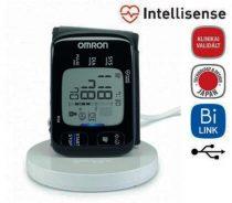 """OMRON RS8 Intellisense csuklós """"okos-vérnyomásmérő"""" NFC kapcsolattal"""