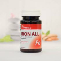 Vitaking Vas Komplex 100 darabos ásványi vitamin (iron all)