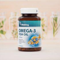 Vitaking Omega-3 halolaj 90 darabos 1200MG gélkapszula