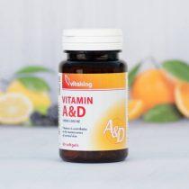Vitaking A & D vitamin 60 darabos gélkapszula