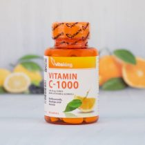Vitaking C-vitamin 1000MG 90 darabos tabletta +csipke+acerola+bioflavonoids