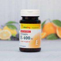 Vitaking E-400ne természtes vitamin 60 darabos gélkapszula