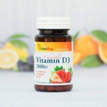 Vitaking D-2000 vitamin 90 darabos rágótabletta