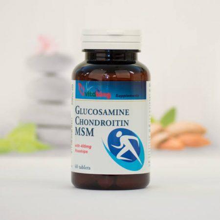 Vitaking Glucosamine Chondroitin MSM tabletta 60 db