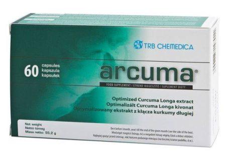 Arcuma curcumin gyulladáscsökkentő kapszula 60 db-os Rövid lejárati idővel