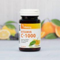 Vitaking C-1000 Bioflav Acerola Csipkebogyó 30 tabletta