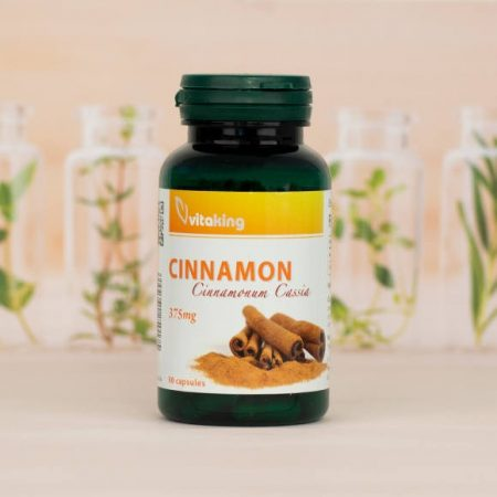 Vitaking Fahéj Cinnamon 375 mg 90 caps