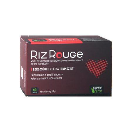 Riz Rouge növényi kivonatokat tartalmazó étrend-kiegészítő az egésszéges koleszterintszentért 60db