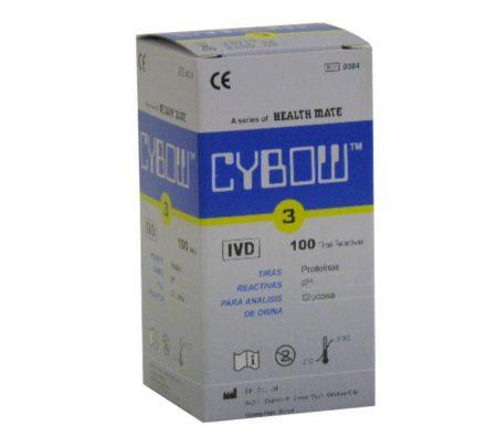 Vizelet tesztcsík CYBOW 3 100 db/doboz